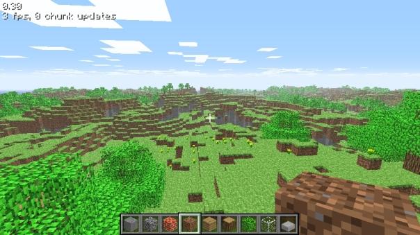 Auf das bild klicken um minecraft zu spielen